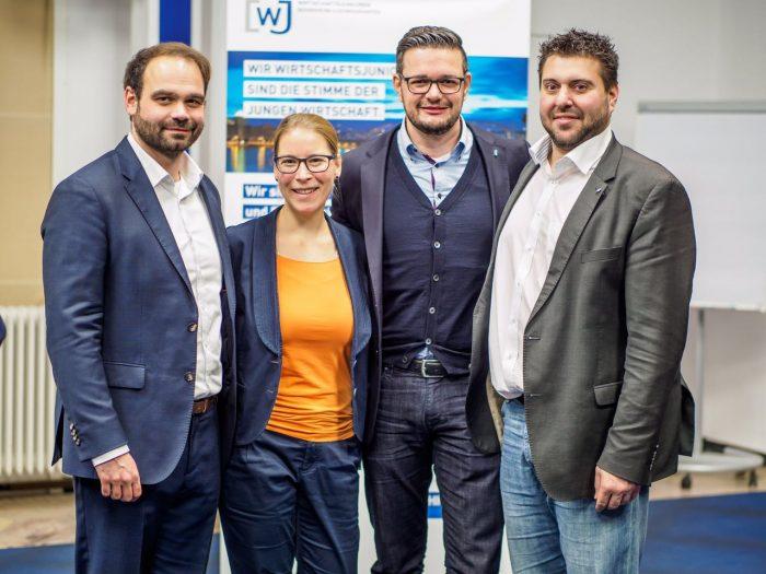 Vorstand der Wirtschaftsjunioren Mannheim-Ludwigshafen 2018
